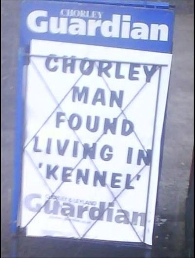 Paul Chester / Facebook: Chorley-News-Billboards