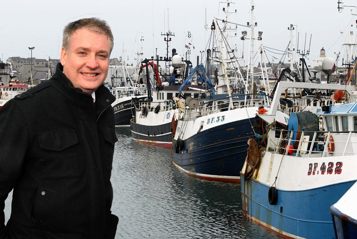 Fishing Minister Richard Lochhead
