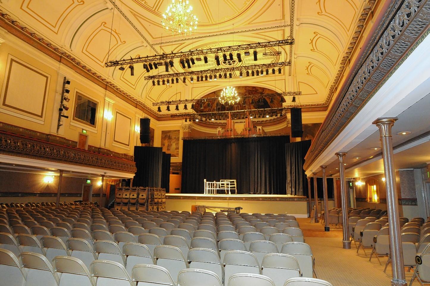 Aberdeen Music Hall.