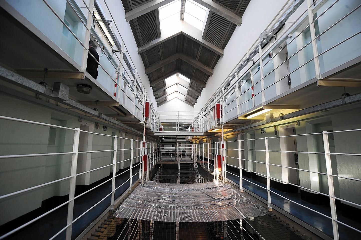 Prison halls in 2009