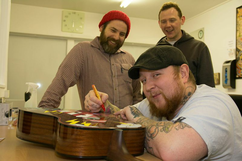 Kris Douglas ( The Whiskys ) Kenny Howden ( Inverness Tattoo Centre ) Andrew Davidson ( The Music Station )
