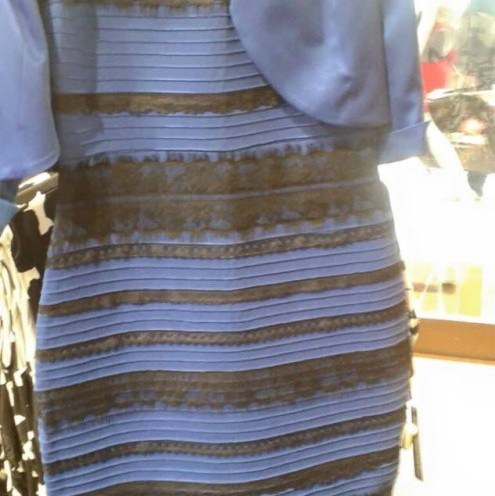 The dress has found worldwide fame and the island family involved has now appeared on US TV