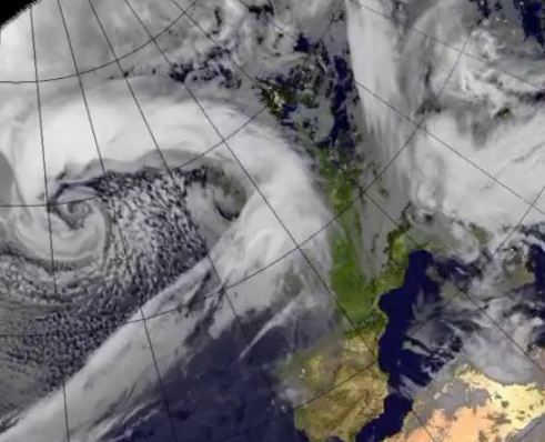 High winds are expected across the north of Scotland