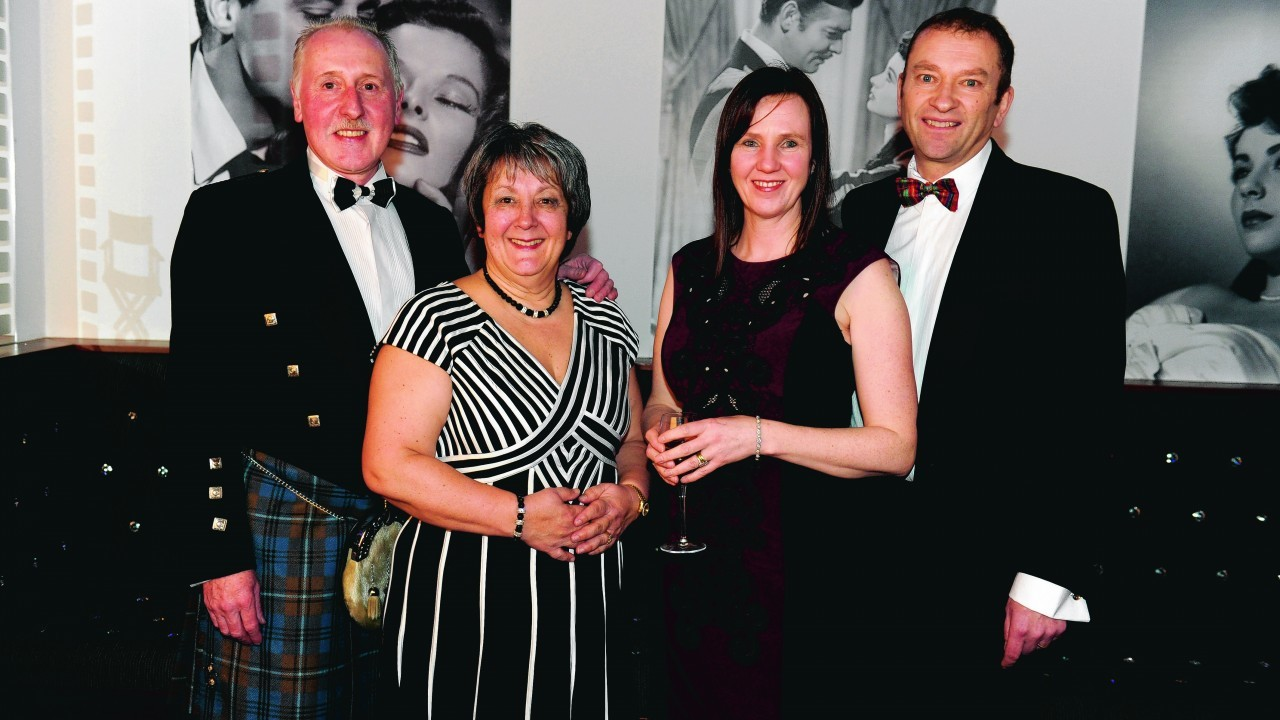 Danny Donald, Christine Bateman, Ann and Chris Grinyer.