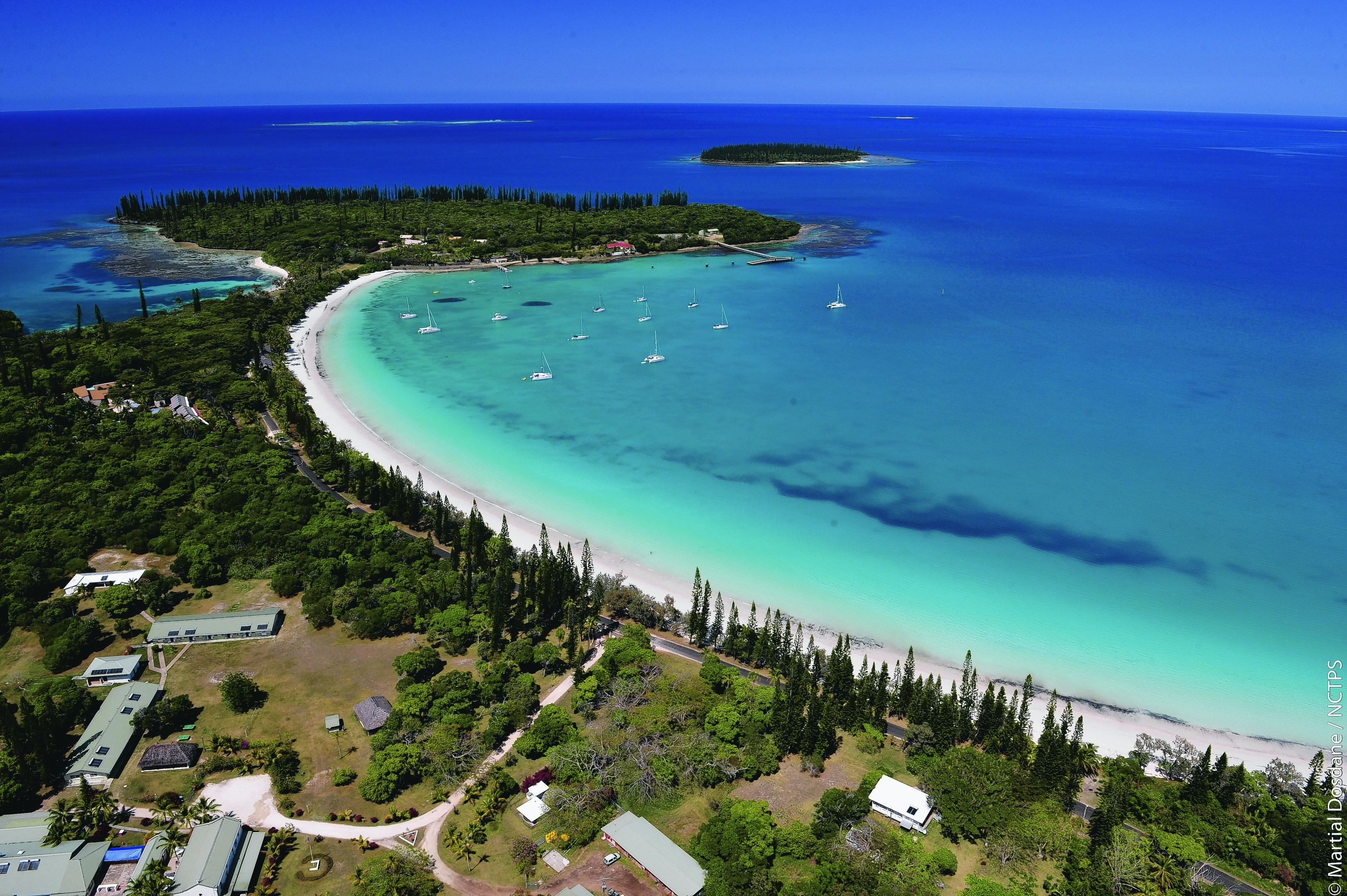 Isle of Pines beach, the lure of crystal clear waters