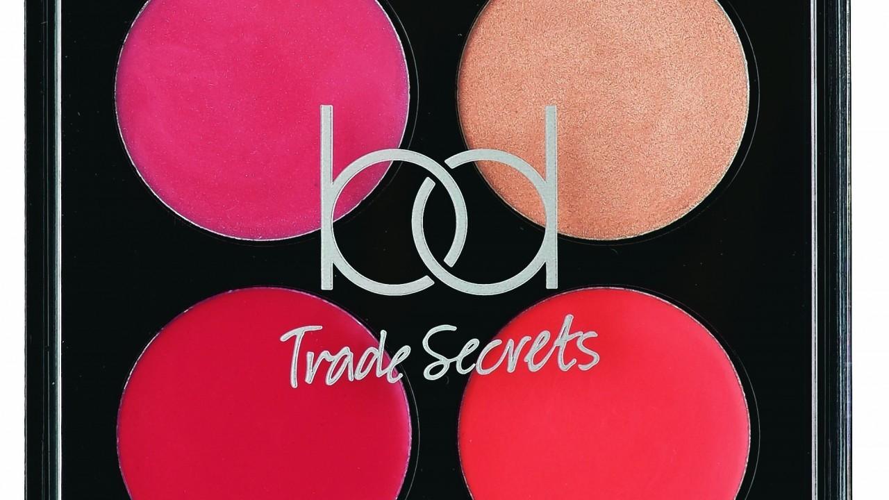 BD Trade Secrets Limited Edition Love Lips Love Cheeks Palette, Tesco