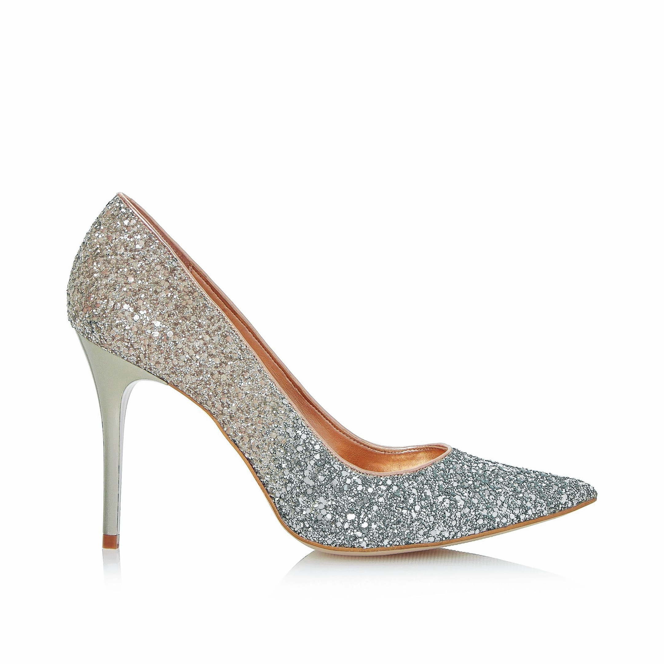 Bindy Glitter Ombre Court, £85, Dune  - available mid-March