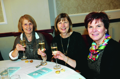 Anne Pinnie, Gillian McArthur and Susan Hamilton