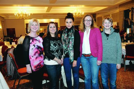 Brenda Ord, Gina Conn, Jodie Conn, Sara Cole-Hamilton and Jamie Birnie
