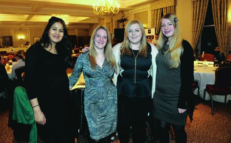 Sonia Kelly, Lucy McCormick, Becky Robinson and Jenny Setterington