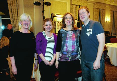 Kath Watt, Gosia Wietrzynska, Saskia and Ryan Crighton