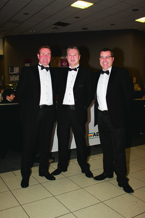 Gary Thirlwell, Neil Ransom and Willliam Barclay