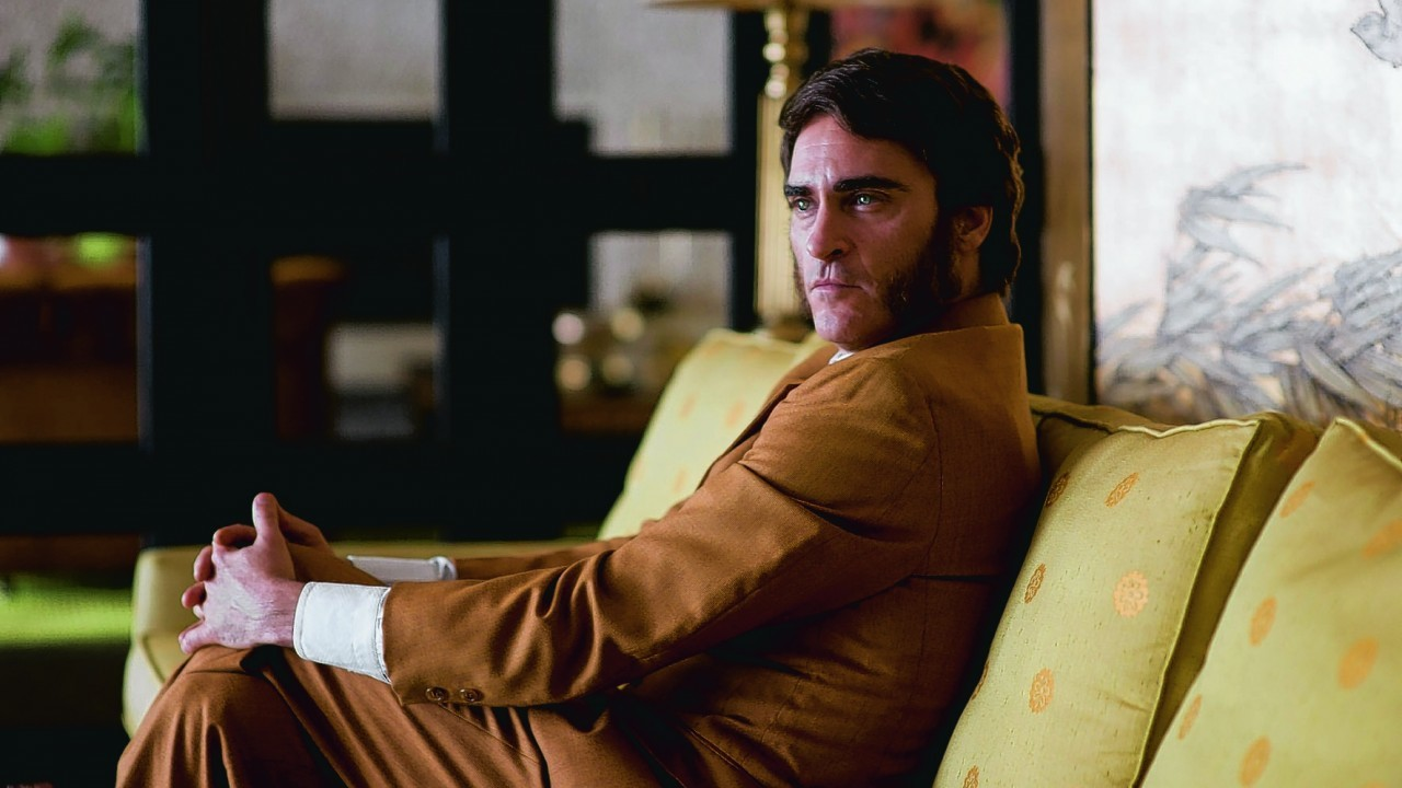 Joaquin Phoenix as Doc Sportello in Inherent Vice