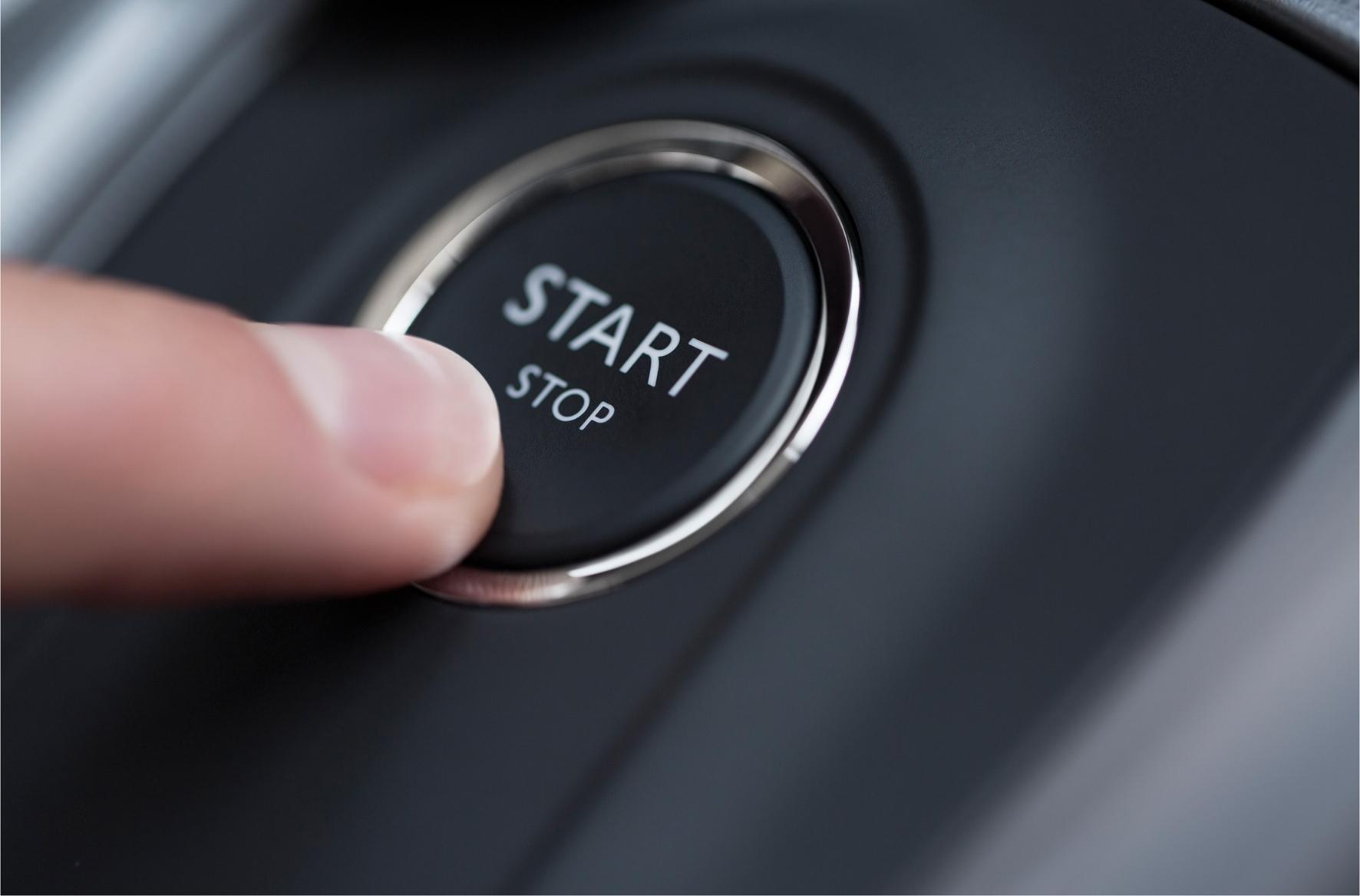 2015 Citroen C4 engine stop-start button (keyless)