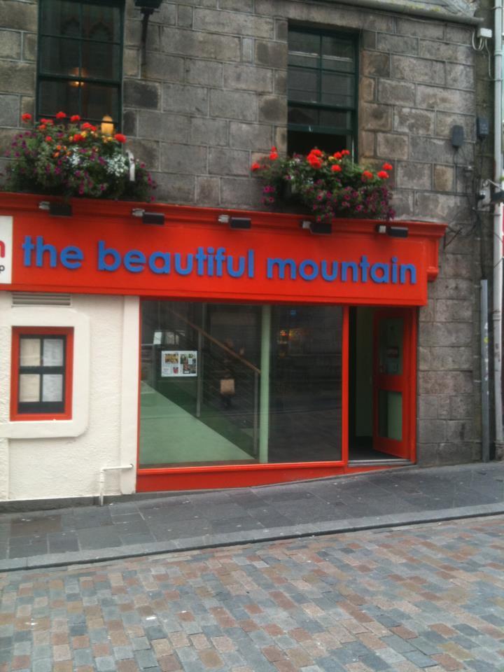 The Beautiful Mountain restaurant in Aberdeen