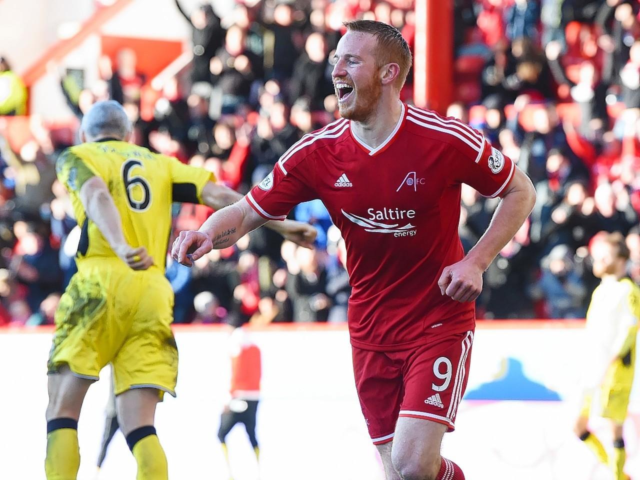 Adam Rooney has scored 23 goals this season