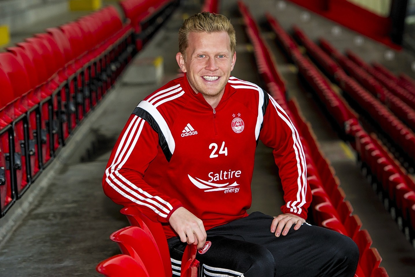Andrew Driver is one of a number of Dons moving on this summer