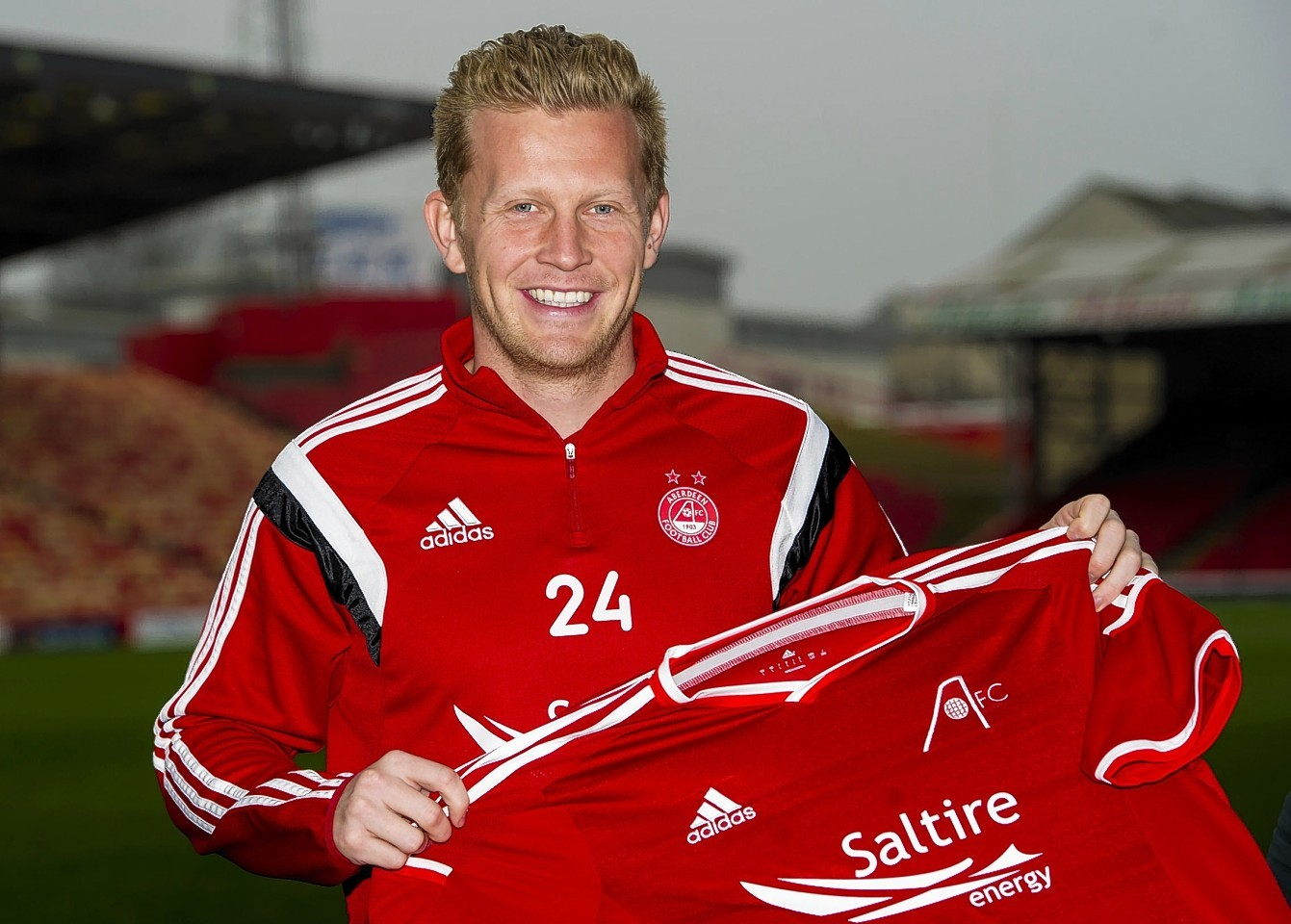 Driver has left Aberdeen and could be playing his football in Holland next season