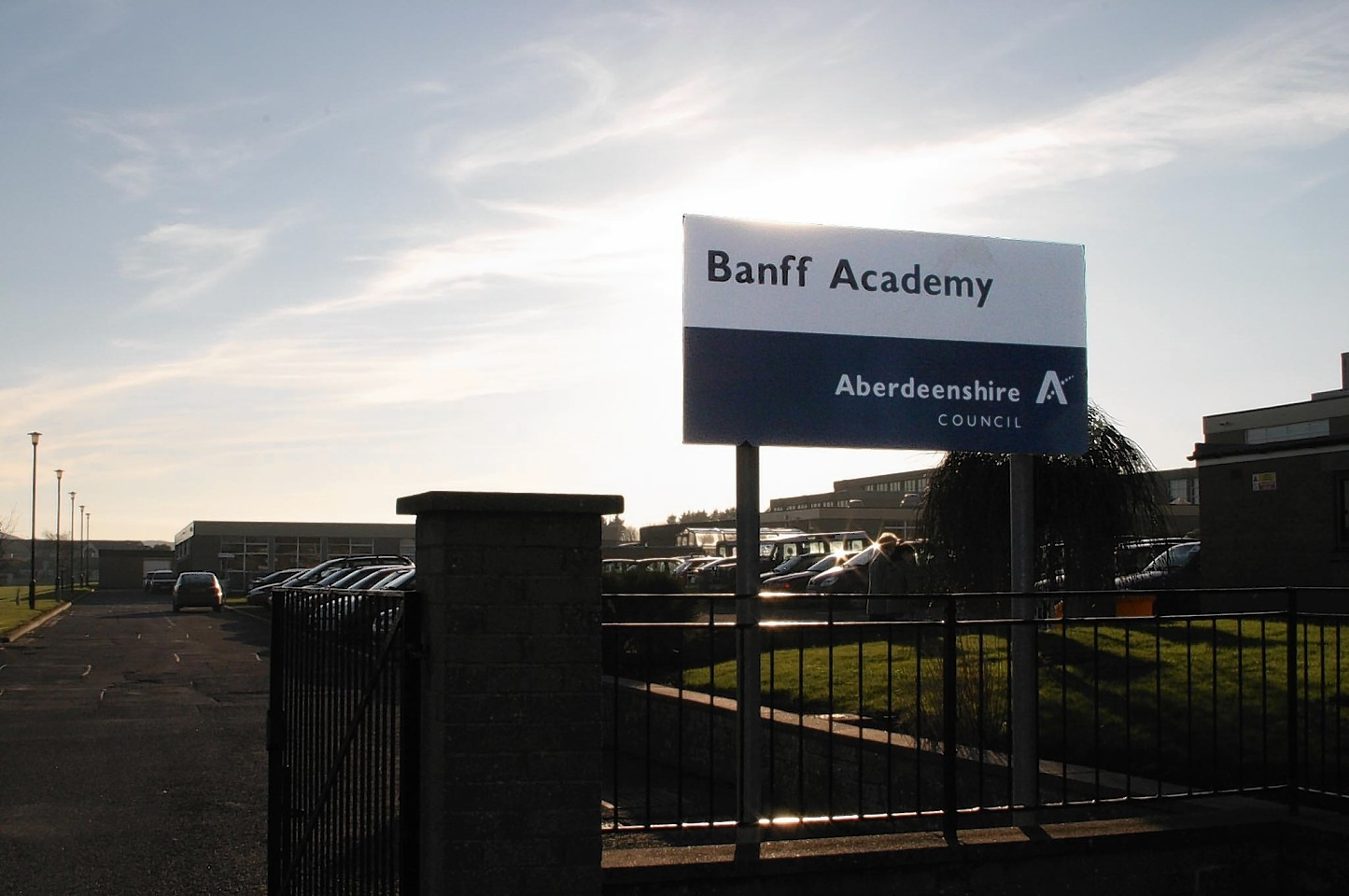 The boy was followed home from Banff Academy