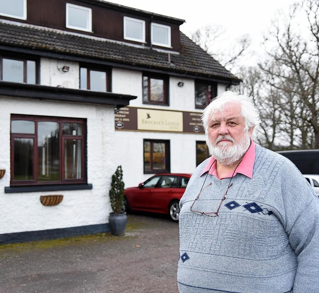 James Paterson of Brockies Lodge, Kiltarlity.