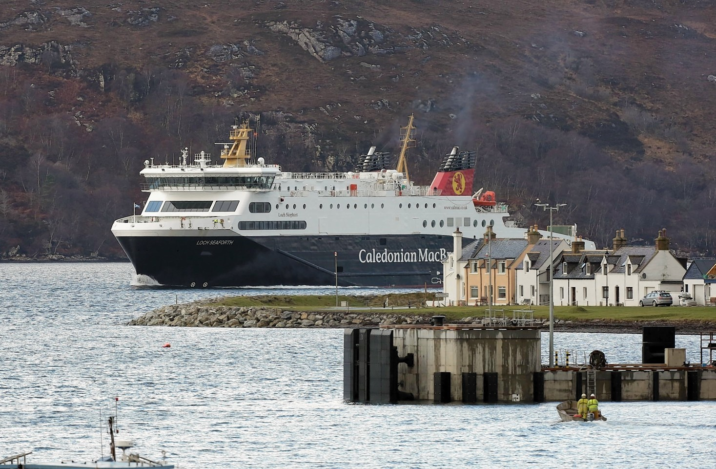 ferries will continue to operate from Port Ellen on the current timetable