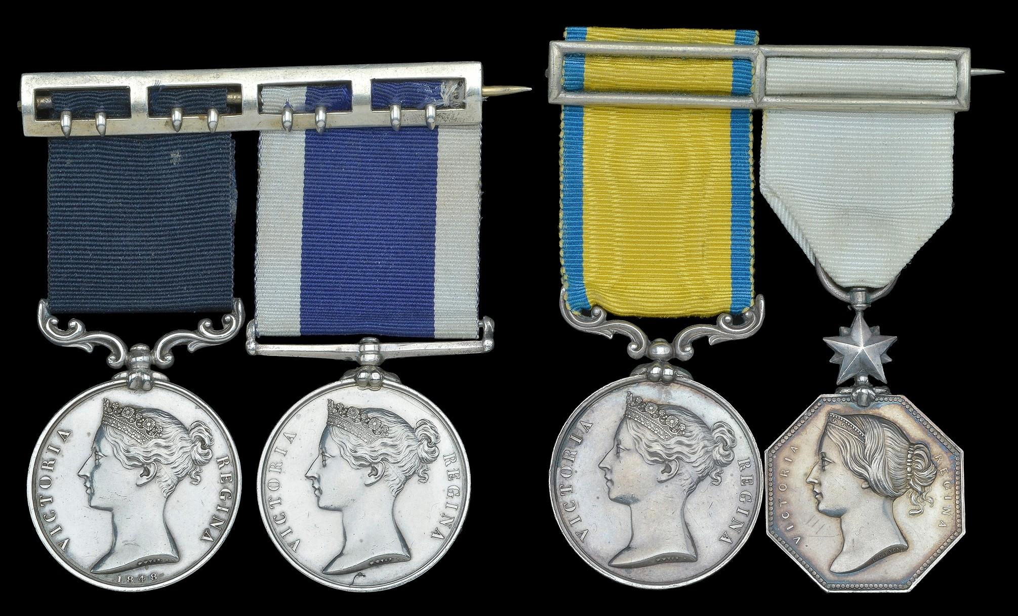 James Adolphus Bute's medals