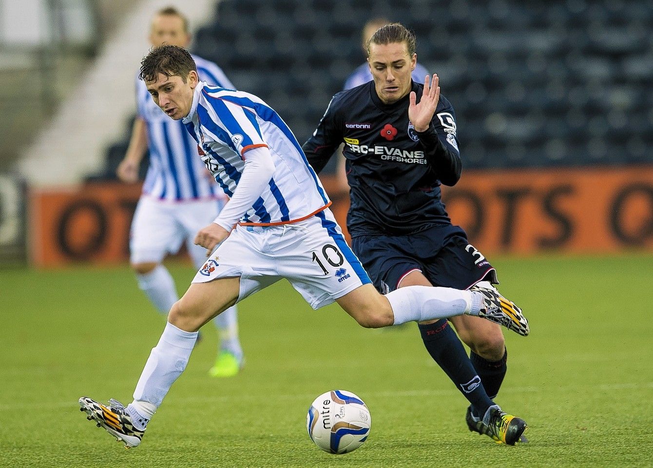 Jackson Irvine has made a permanent return to Ross County, after impressing on loan last season.