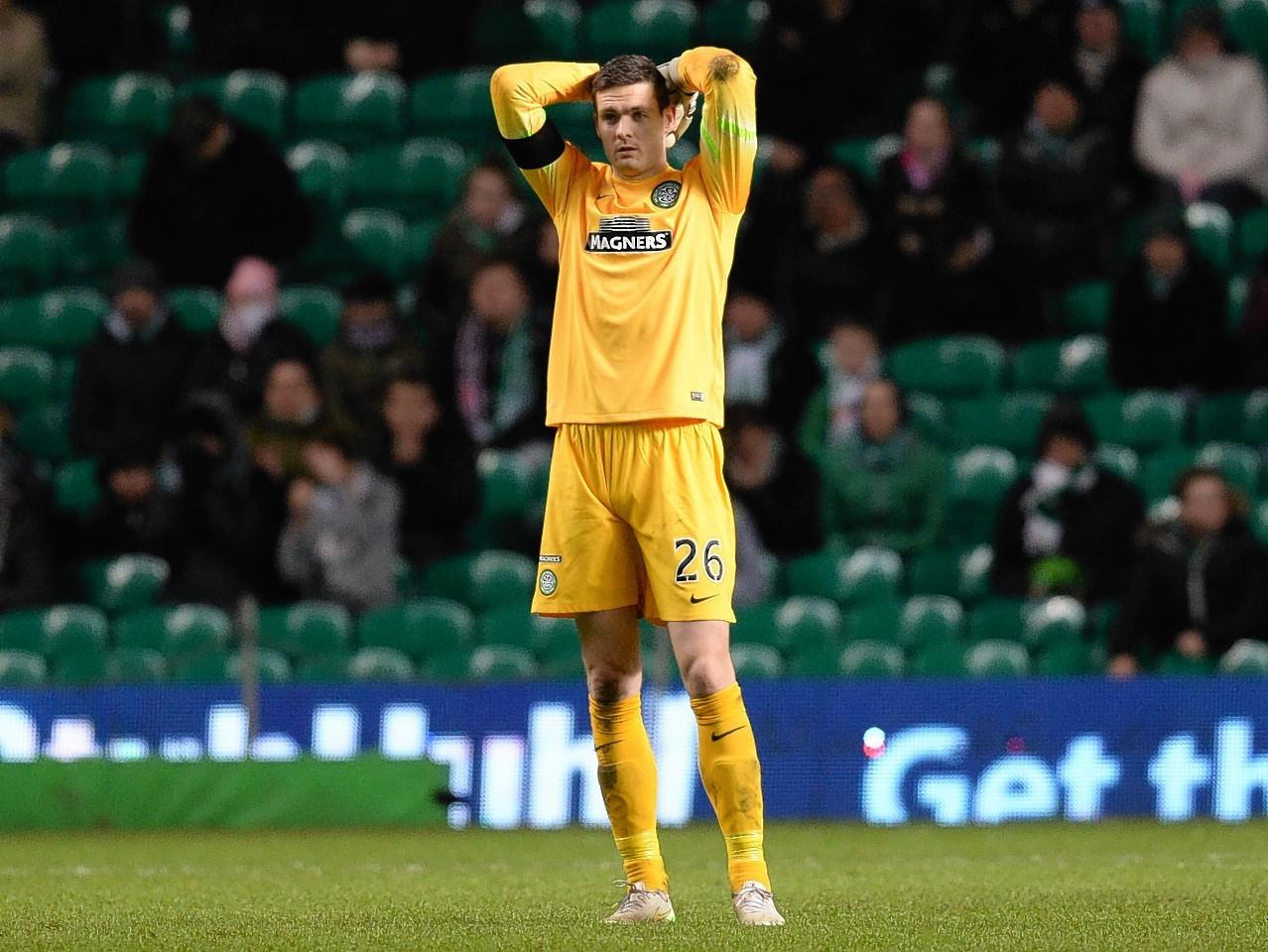 Craig Gordon cut a dejected figure after the match