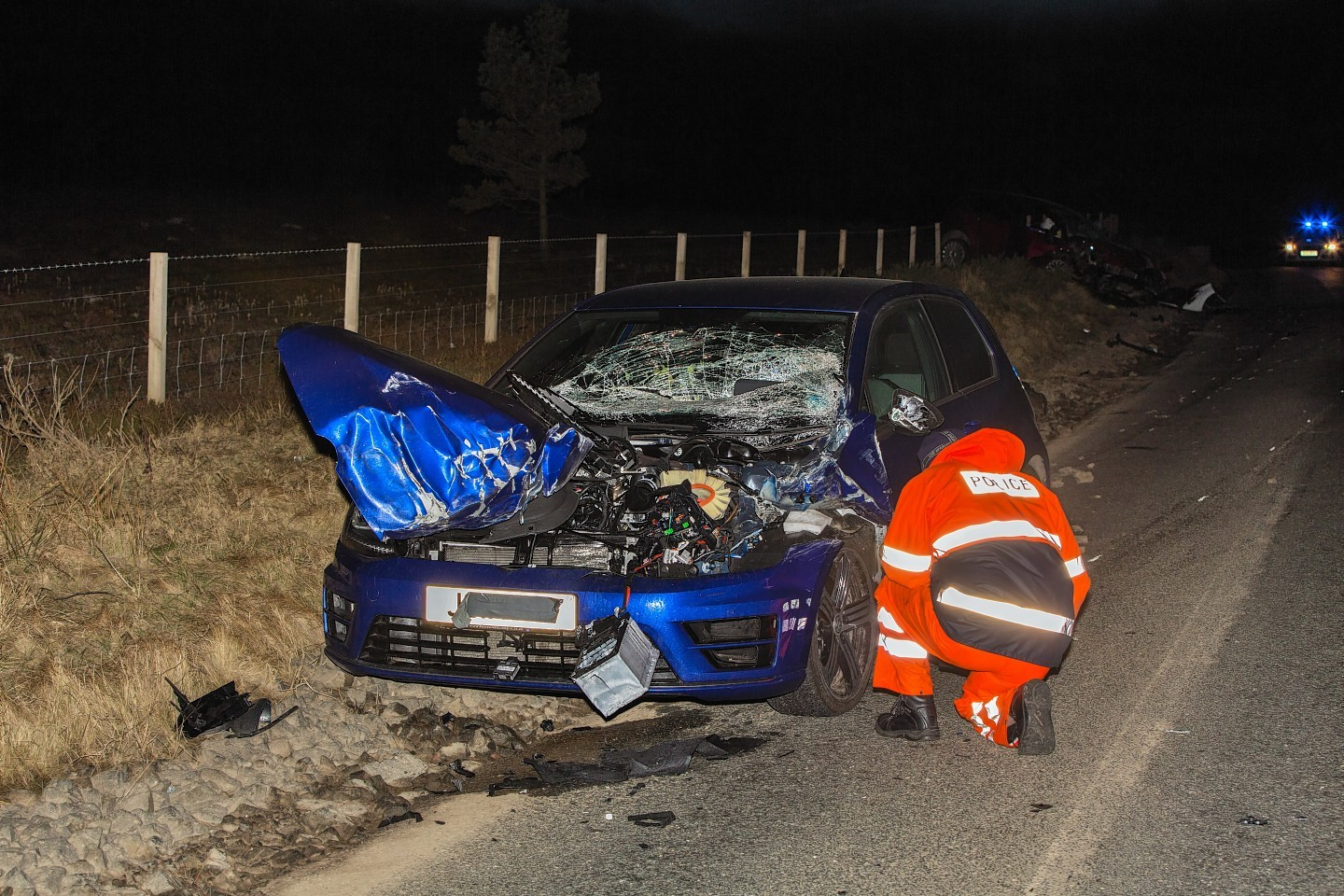 The rate of the most serious crashes is (34%) higher in Moray