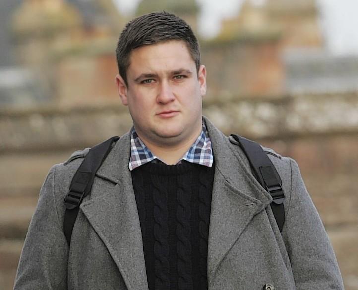 Daniel Edmunds outside court