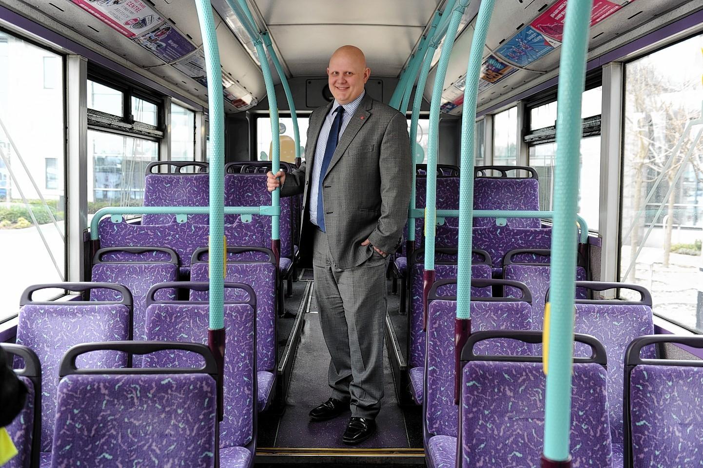 David Phillips, Managing Director First Aberdeen