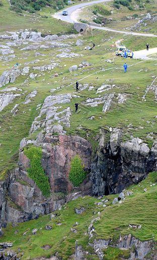 Durness cliffs