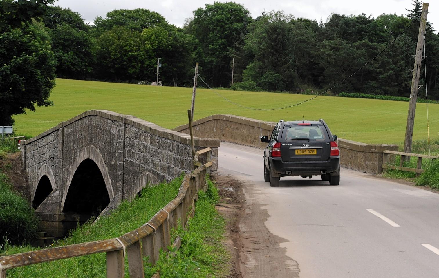 The Ardlethen Bridge, near Ellon