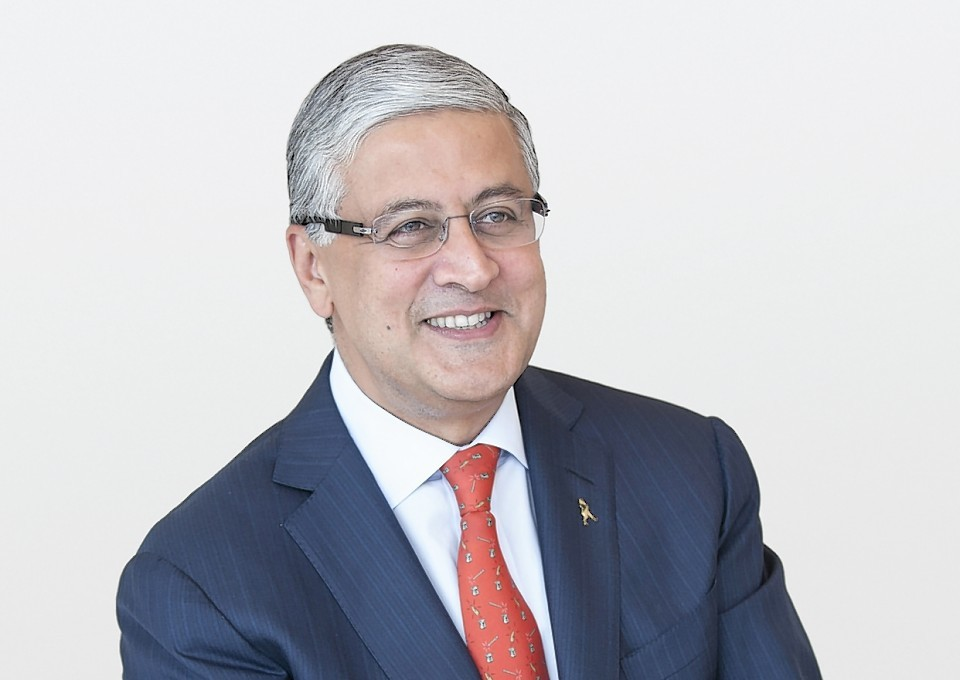 Diageo chief executive Ivan Menezes