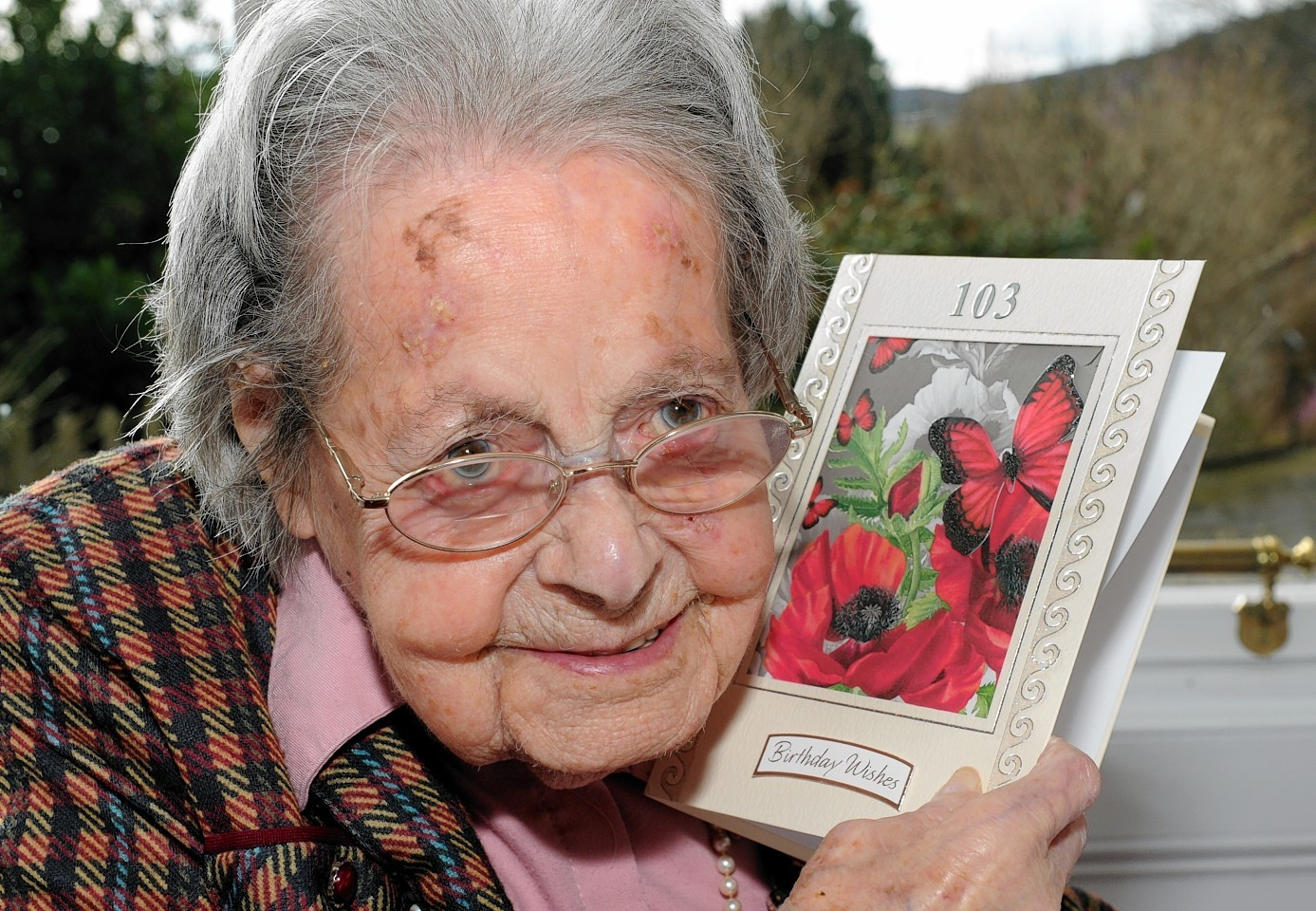Janet Cruickshank celebrates her 103rd birthday