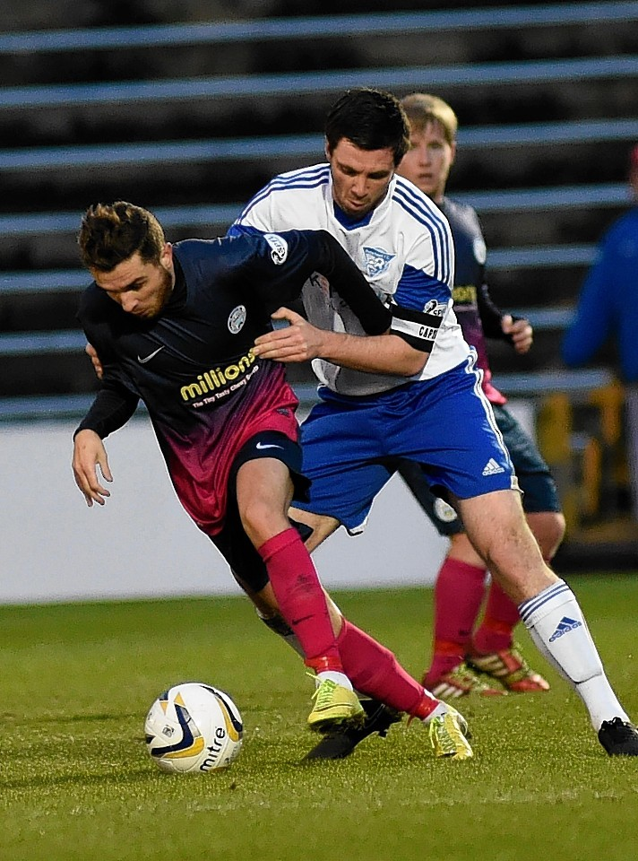 McManus was travelling with team mate Joe McKee, left