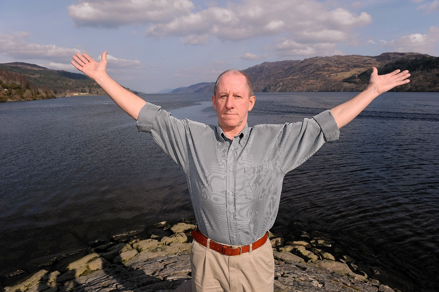 Gerry Worth is among those concerned that Loch Ness will be surrounded by over 500 wind turbines .