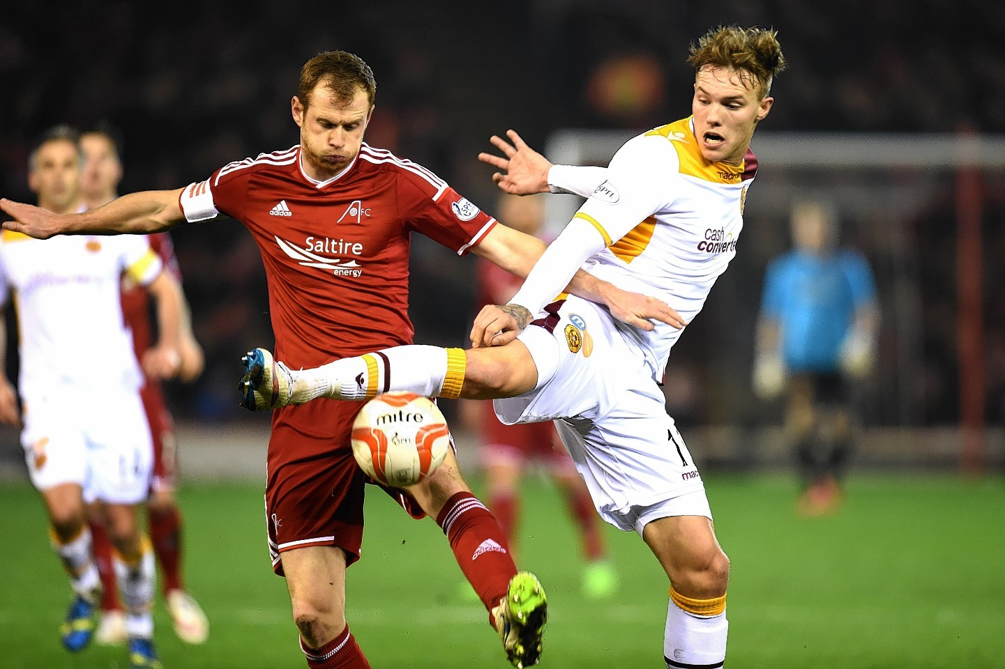 Reynolds has stepped up to the role of Dons captain this season