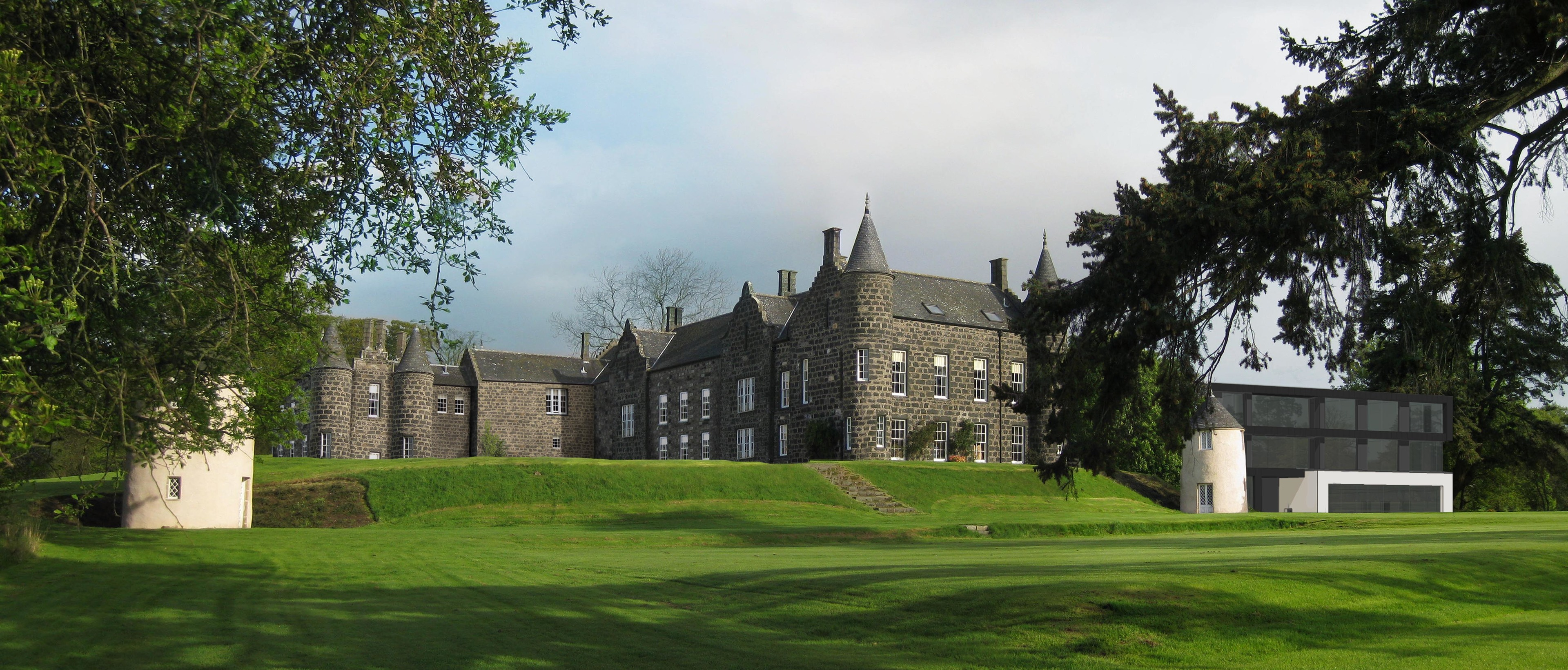 How the plans for Meldrum House might look
