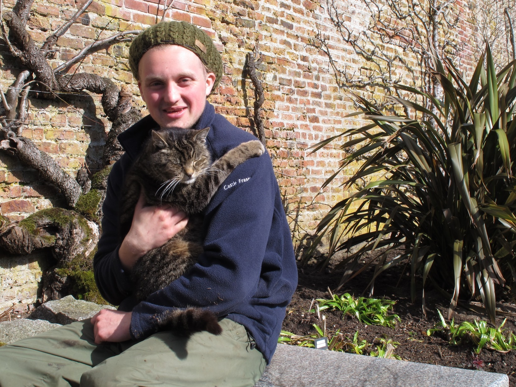 Castle Fraser's resident ground cat will be recognised for his 16-year service