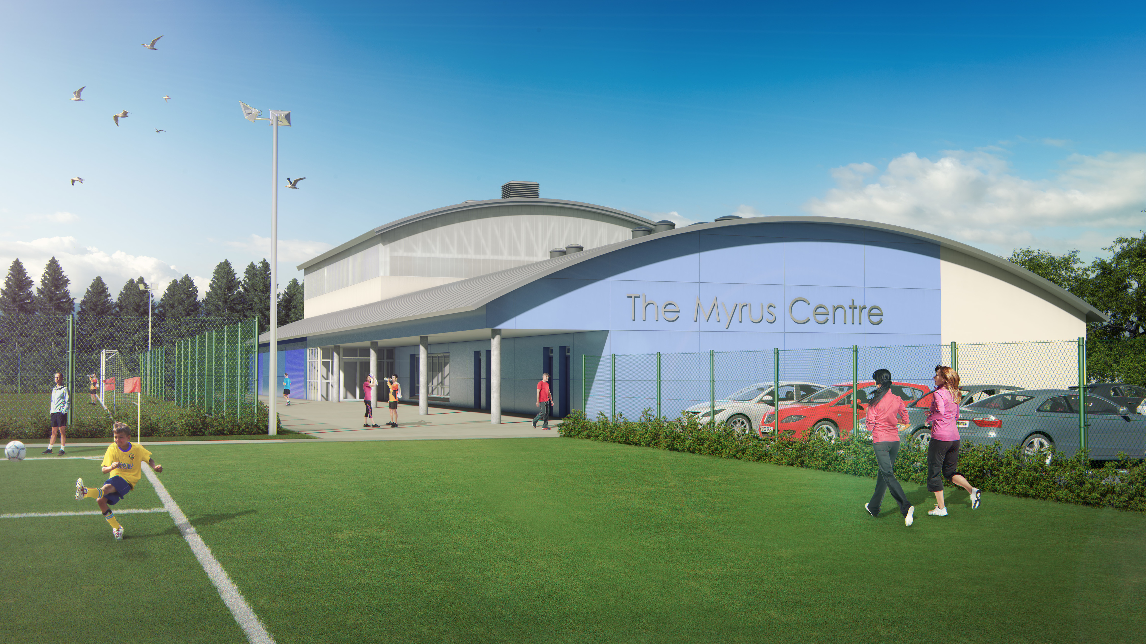 Parking provision has been criticised at the new centre.