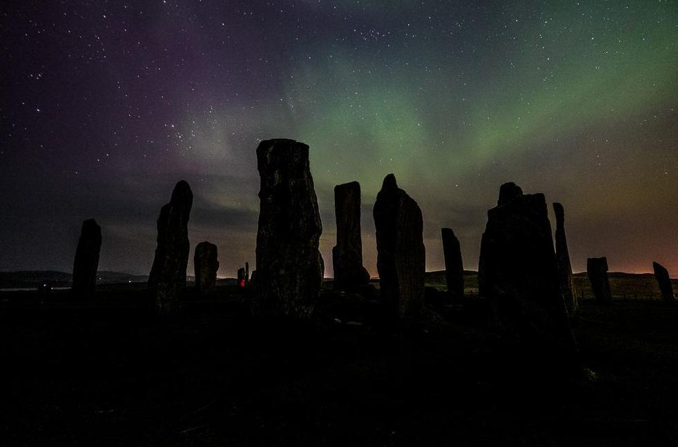 The Northern Lights over the Callanish Stones earlier this year