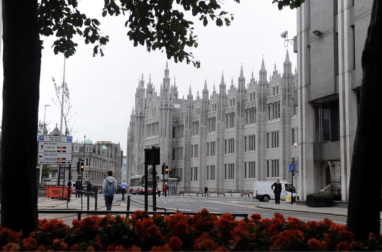 Broad Street in Aberdeen.