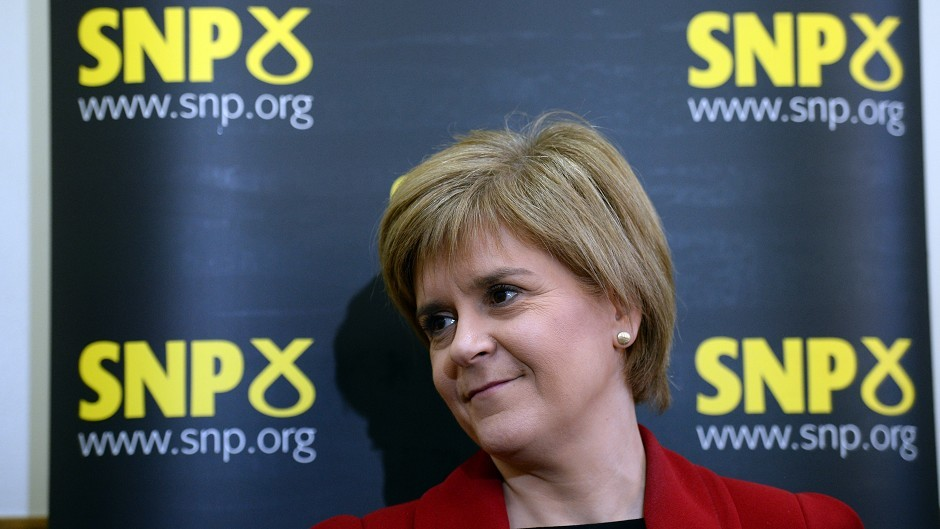 First Minister Nicola Sturgeon was among those included on the list