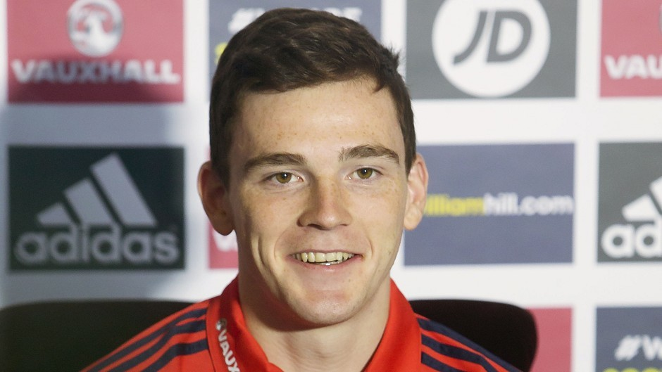 Scotland's Andy Robertson is looking forward to returning to former stamping ground Hampden Park this week
