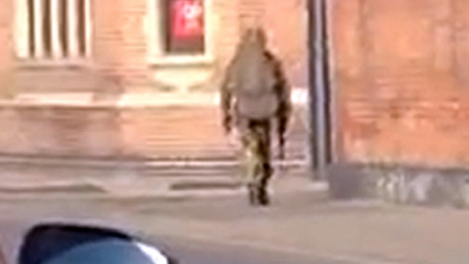 A man whose appearance has prompted a firearms incident in Norwich (Norfolk Constabulary/PA)