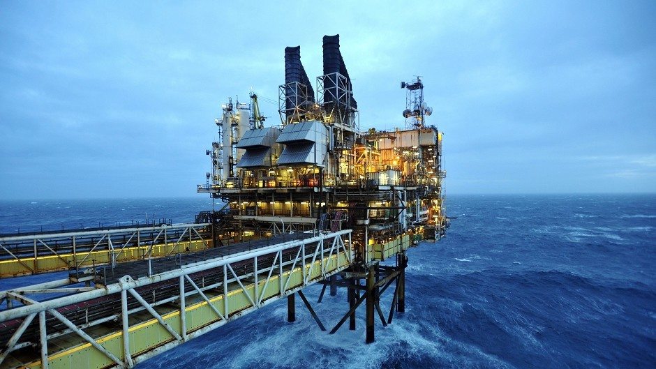 The North Sea industry is vital to Britain's economy.