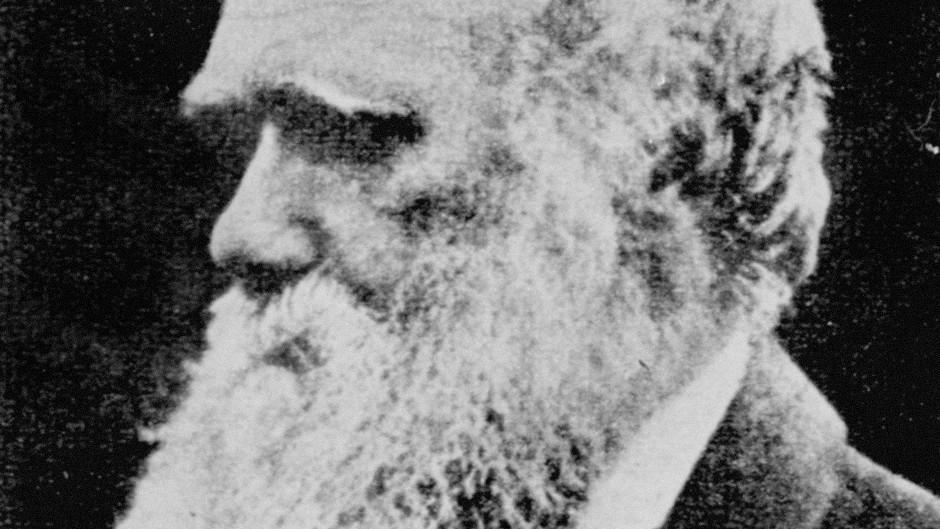 Naturalist Charles Darwin