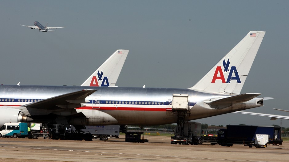 The incident involved an American Airlines flight to Boston