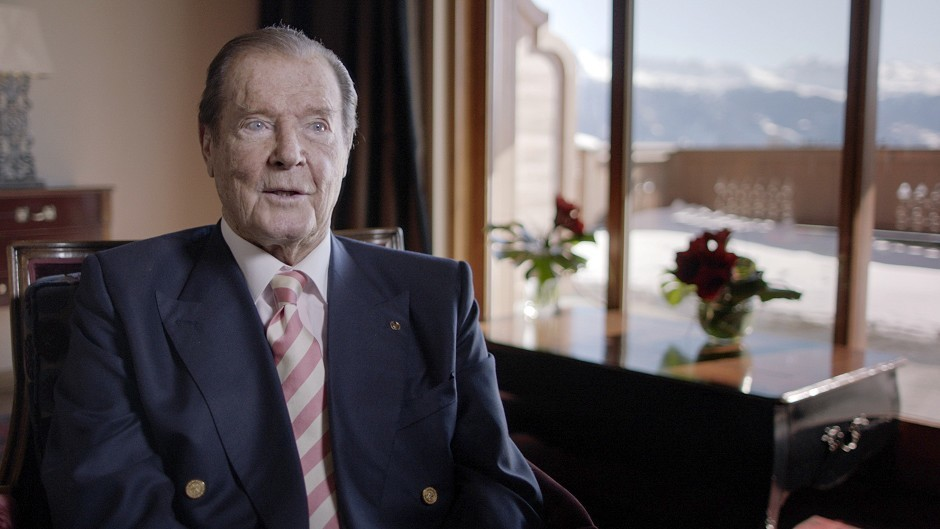 Former 007 Sir Roger Moore